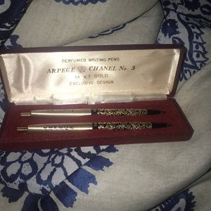 1Day Sale14kChanel Writing Pens 1960..Super Rare!